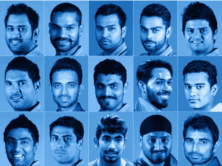 ICC World Cup T20 India Team 2016