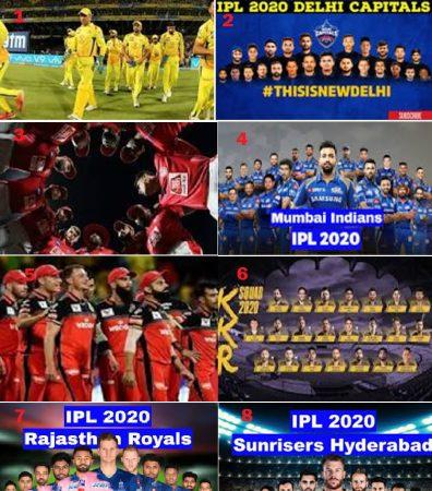IPL 2020 UAE Ranks