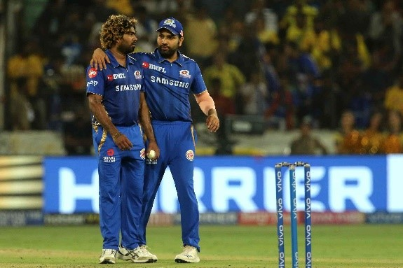 Rohit giving Lasith Malinga (though a little expensive in that match) the final over in IPL 2019