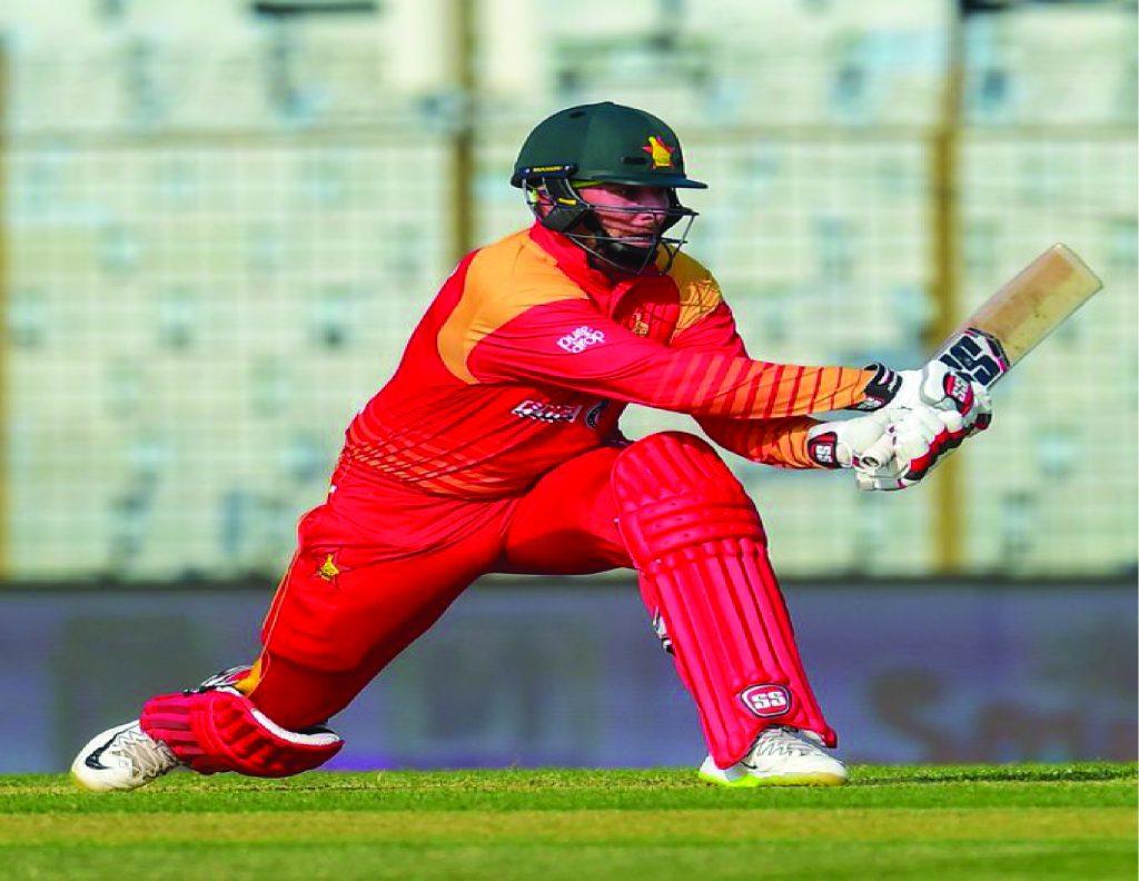 Brandon Taylor Pakistan vs Zimbabwe