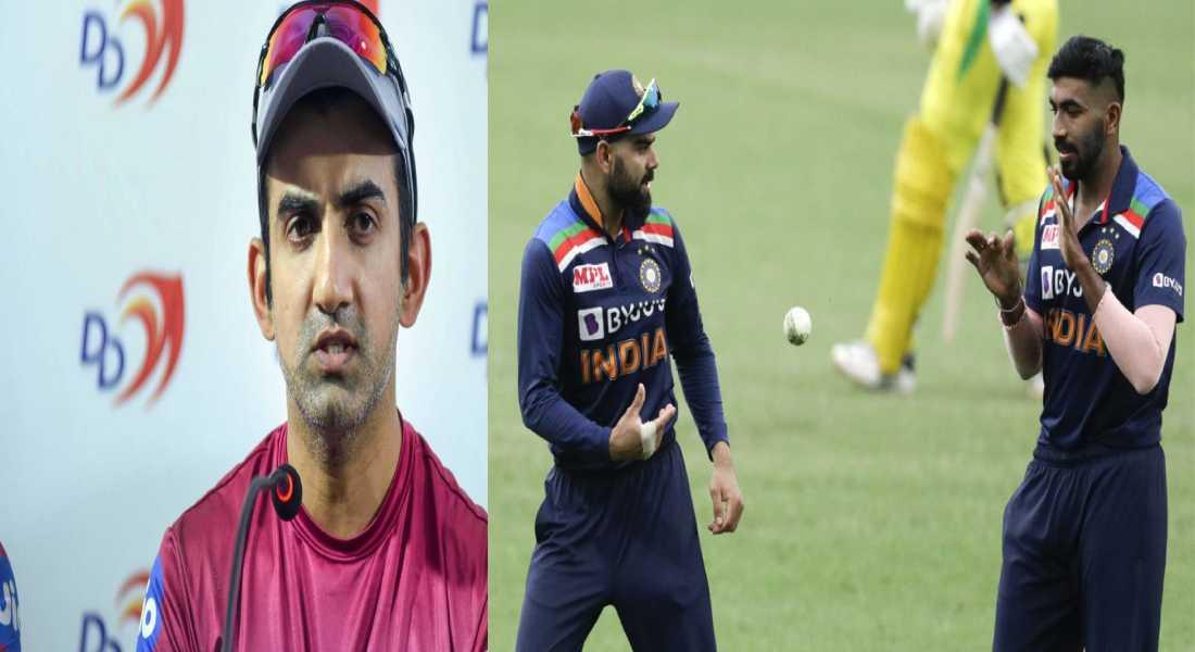 Australia vs India: Gautam Gambhir thinks Kohli did a blunder by Giving Bumrah just two overs