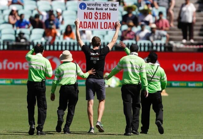 Australia vs India: Two protesters breached the security during the 1st ODI at Sydney