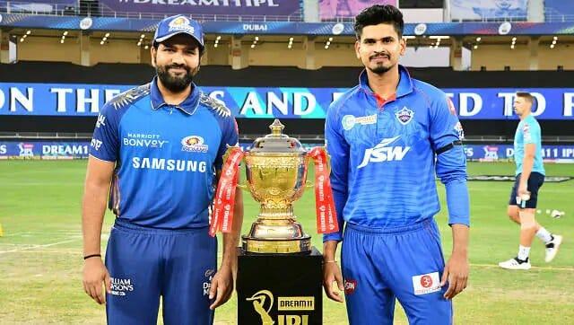 Rohit Sharma and Shreyas Iyer Mumbai Indians vs Delhi Capitals Final