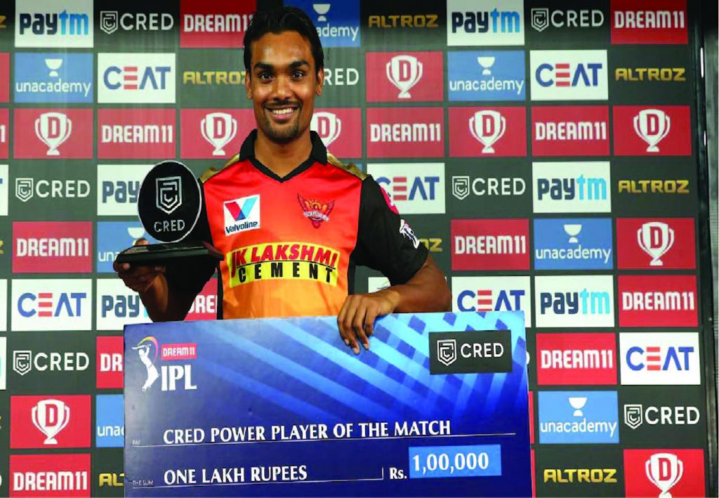 Sandeep Sharma (SRH) IPL 2020
