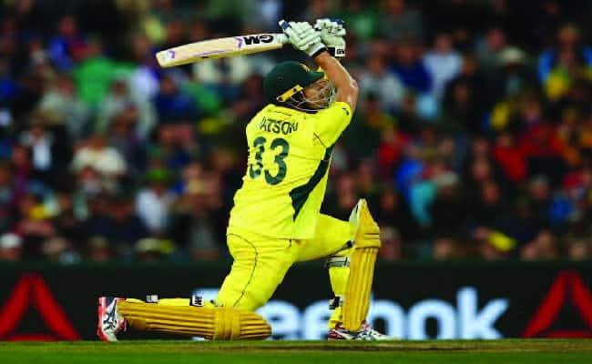 Shane Watson playing for Australia in ODI
