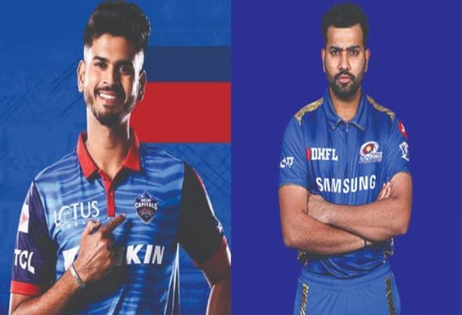 Rohit Sharma and Shreyas Iyer(MI vs DC)