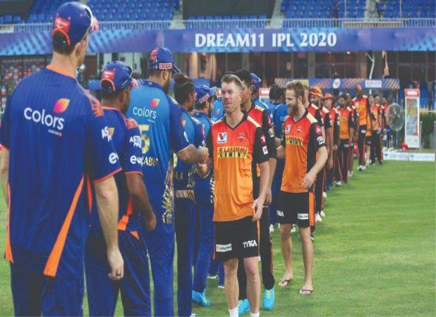 Sunrisers Hyderabad and Mumbai Indians