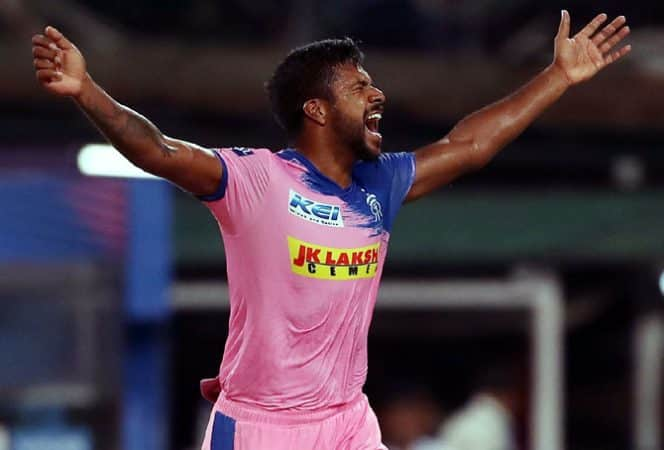 Varun Aaron (Rajasthan Royals, RR) IPL 2021 Auctions