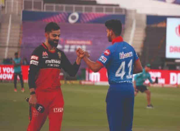 Virat Kohli and Shreyas Iyer(SC vs RCB)