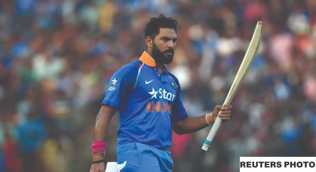 Yuvraj Singh practicing for Syed Mushtaq Ali Trophy 2020-21