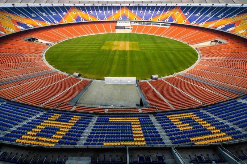 Sardar Patel Stadium named after Indian PM Narendra Modi