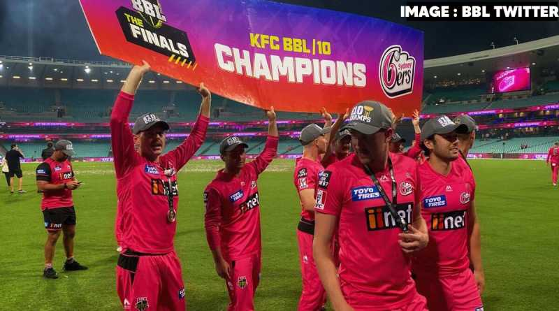 Sydney Sixers defeated Perth Scorchers to win the Big Bash League Title 2020-21