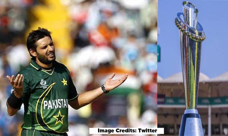 PSL Season 6: Shahid Afridi blames PCB for PSL Season 6 postponement