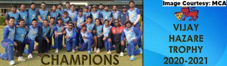 Vijay Hazare Trophy 2021: Mumbai wins Vijay Hazare Trophy 2021 thrashing Uttar Pradesh