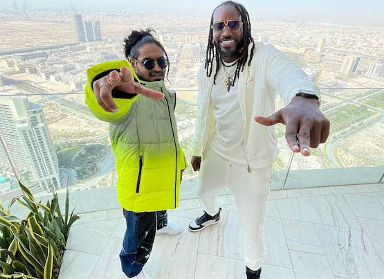 Vivo IPL 2021: Chris Gayle released his new music video with Indian Rapper Emiway Bantai watch Video