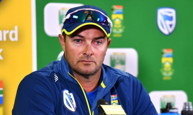 Mark Boucher, South African Cricket Head Coach