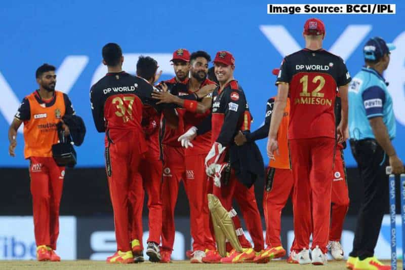 Vivo IPL 2021: RCB records a low scoring thriller win against Sunrisers Hyderabad