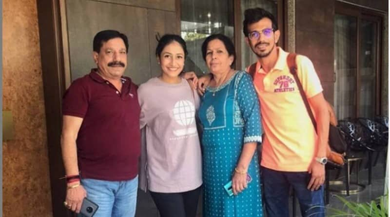 Indian spinner Yuzvendra Chahal's parents tested covid positive, father hospitalised with serious symptoms