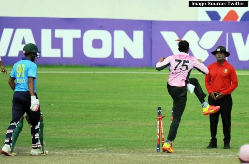 Shakib Al Hasan loses his temper twice in one game of Dhaka Premier League, apologises