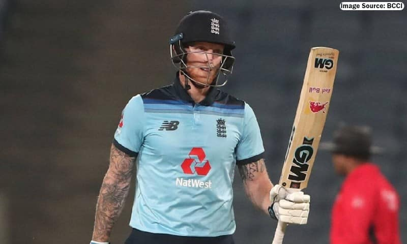 English all-rounder Ben Stokes provide an update on his finger injury