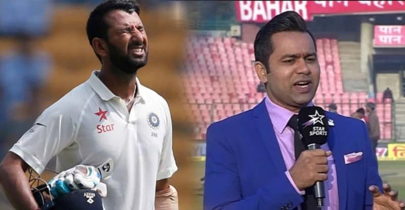 Aakash Chopra explains how Cheteshwar Pujara is failing to score runs in test cricket of late