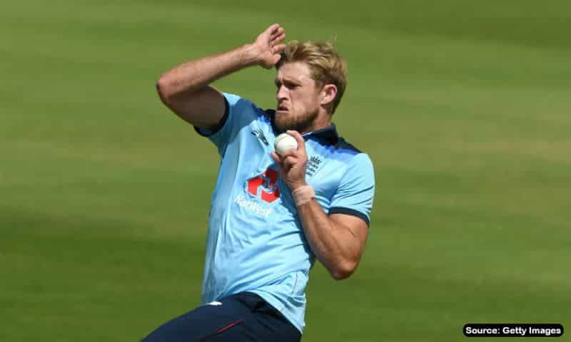 David Willey, English all rounder