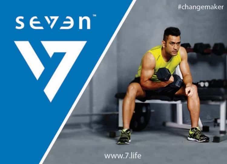 MS Dhoni's lifestyle brand SEVEN