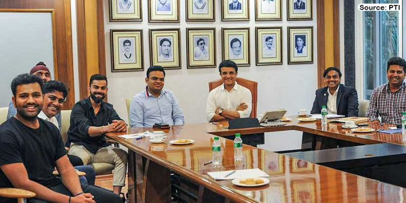 Virat Kohli and Sourav Ganguly and other BCCI officials discussed roadmap of the T20 World Cup 2021