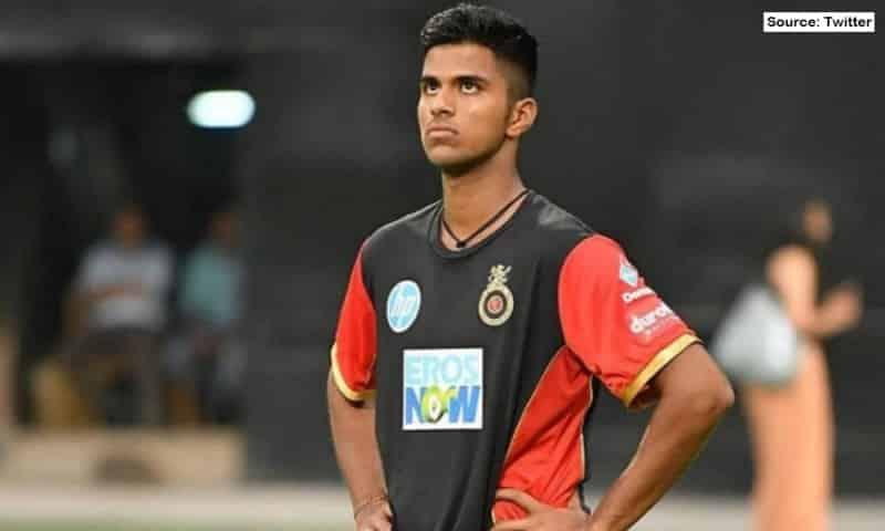 Vivo IPL 2021: RCB's Washington Sundar has been ruled out of the IPL 2021