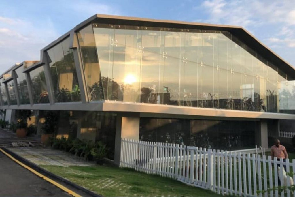 MS Dhoni's Showroom for his Bikes and Cars