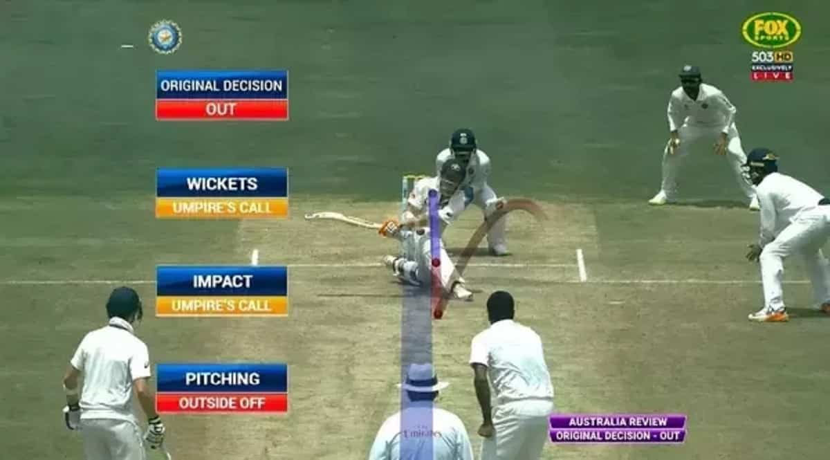 Umpire's Call in Cricket