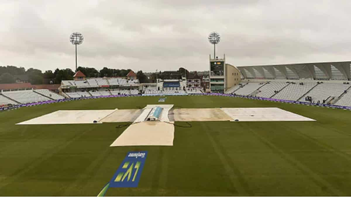 Picture of ground with covers