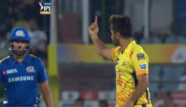 Rohit Sharma vs Shardul Thakur, MI vs CSK IPL 2021