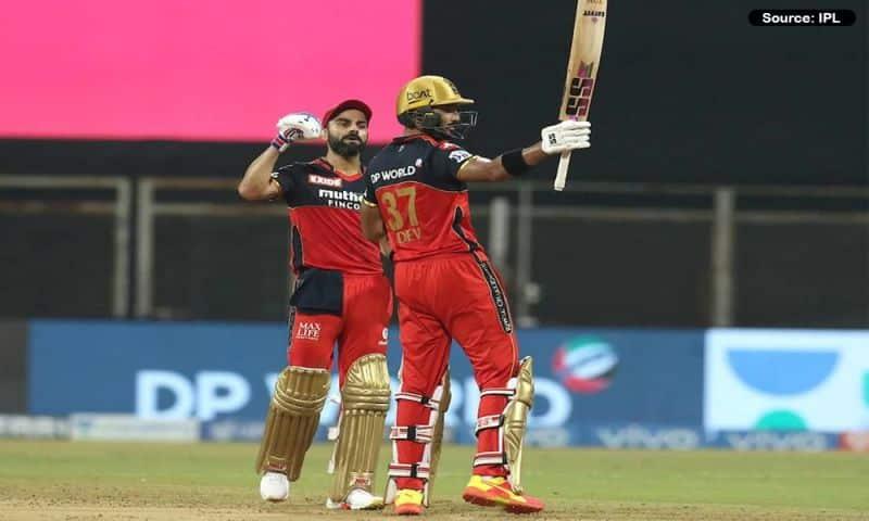 Virat Kohli and Devdutt Padikkal.